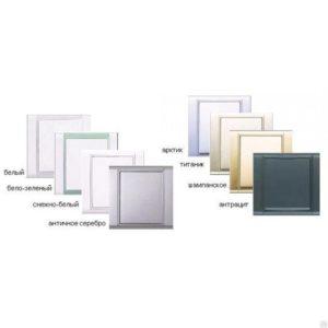 Дизайнерские пневморозетки настенные пластиковые серия Time (белый, бело-зеленый, снежно-белый)