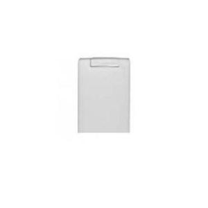 Пневморозетка настенная пластиковая прямоугольная Векс (белая)
