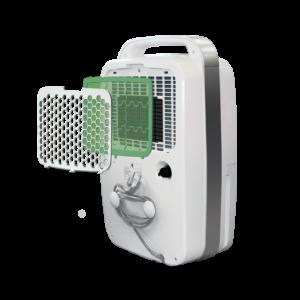 Вентилятор напольный Ballu BFF — 804